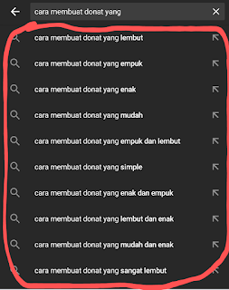 Riset kata kunci youtube