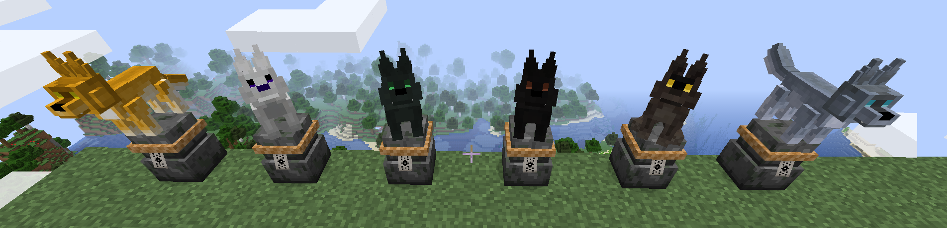 Minecraft Guardians Galore Mod For 1.17.1/1.16.5 (Animal Guards)