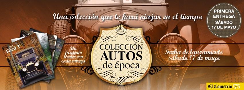 coleccion autos de epoca 1:43 el comercio
