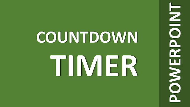 Cara Mudah Membuat Countdown Timer pada PowerPoint Ala Kak Dirman (Versi 1)