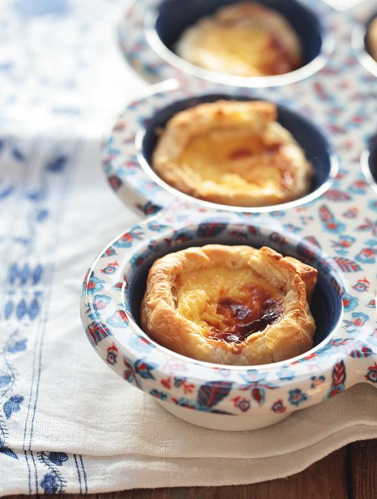 Portugiesische Törtchen - Pastéis de Nata