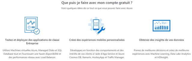 Azure Cloud - Que faire avec votre compte gratuit