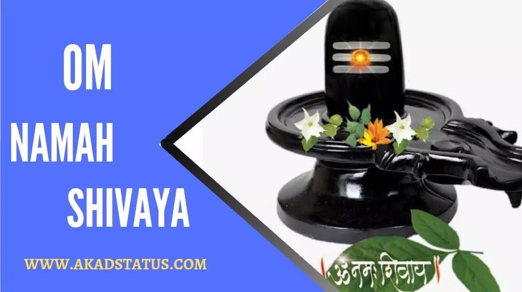 Om Namah Shivaya (ओम नमः शिवाय) status in hindi