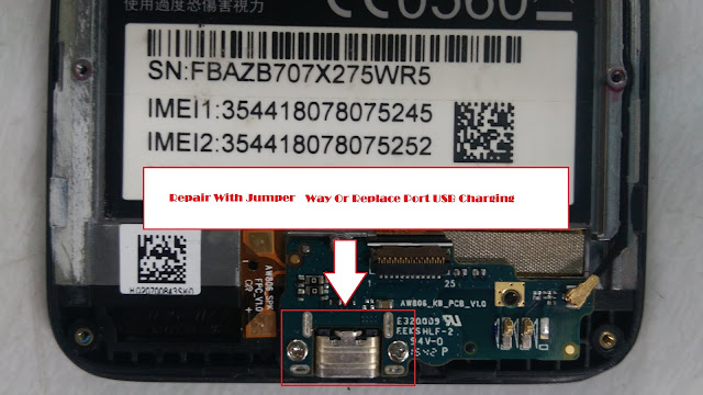 Fake Charging Asus Zenfone GO X00AD Jumper Solution