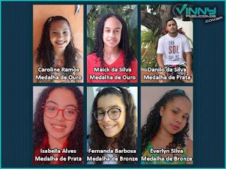 Estudantes Iramaiense conquistam medalhas em Olimpíada Brasileira de Astronomia e Astronáutica