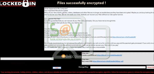 Oxar OXR (Ransomware)