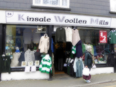 Shopping in Kinsale - Ireland