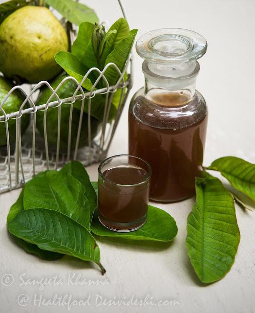 guava leaf infusion