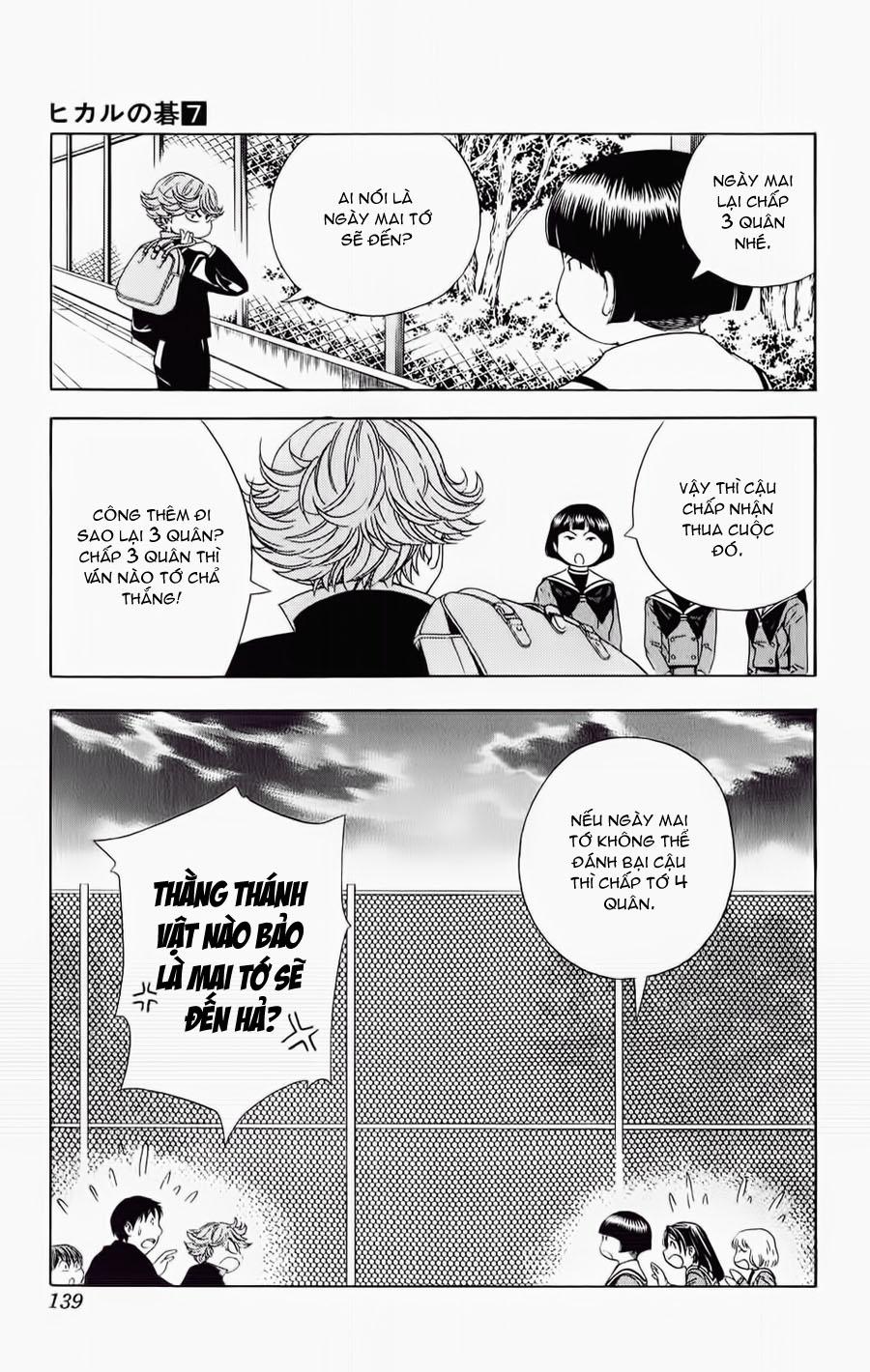 Hikaru No Go hikaru no go chap 57 trang 24