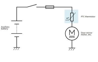 Perbedaan termistor PTC vs NTC