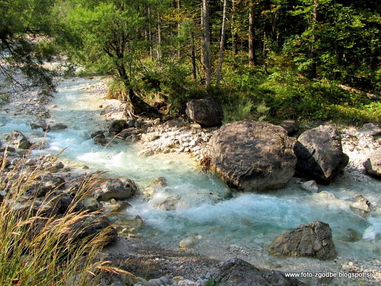 Slovenija, Kranjska Gora, Mala Pišnica