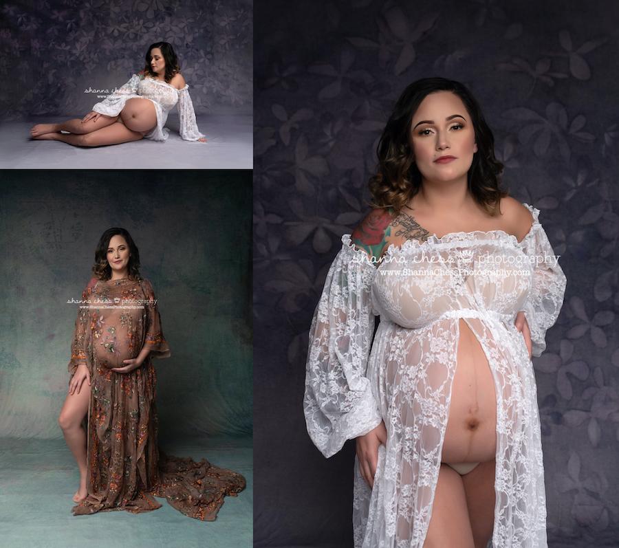Eugene Oregon maternity portraits