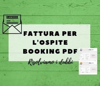fattura ospite booking