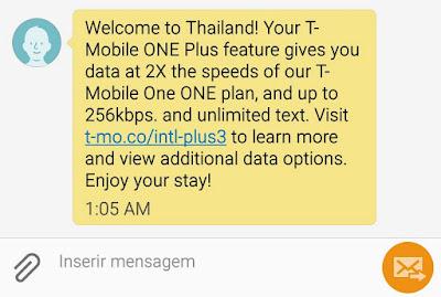 chip de celular para usar internet na Tailândia