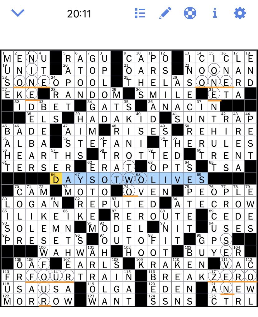Web Ny Times Crossword : times, crossword, Times, Crossword, Puzzle, Solved:, Sunday's, November
