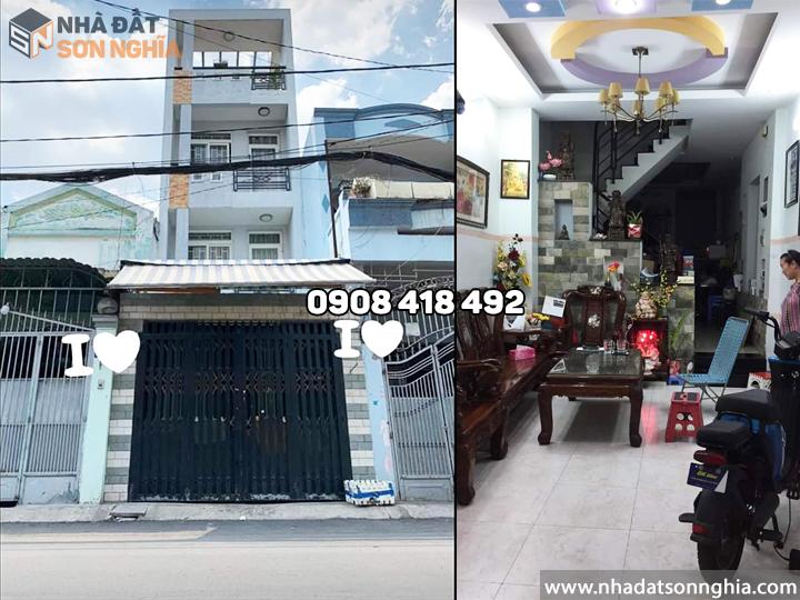 Bán nhà Gò Vấp mặt tiền đường số 5 phường 9