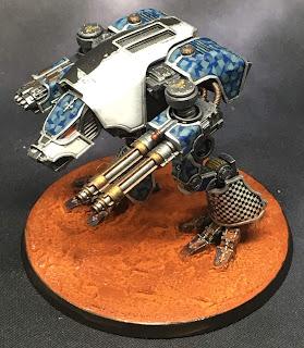 Legio Tempestus Warhound Titan for Adeptus Titanicus - Dente Ferrum