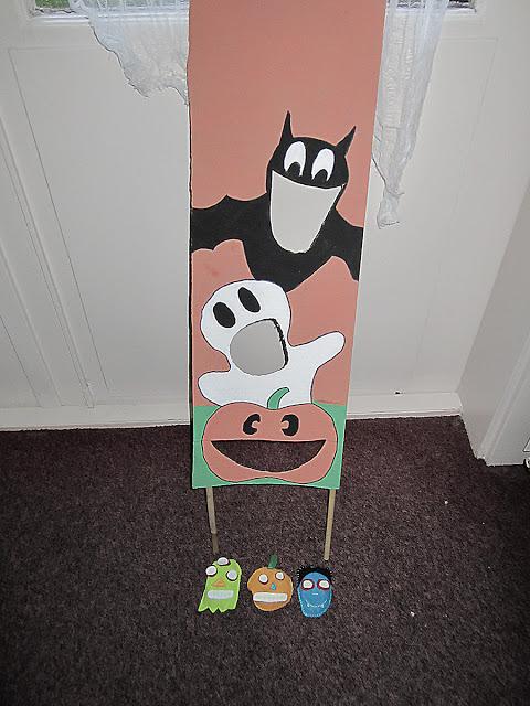 Halloween spelletje bonenzakjes