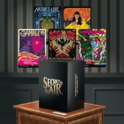 "Magic the Gathering ""Our Show Is On Friday, Can You Make It"" Secret Lair Box Set by Wizards of the Coast with art by Jeff Soto, Jermaine Rogers & More!"