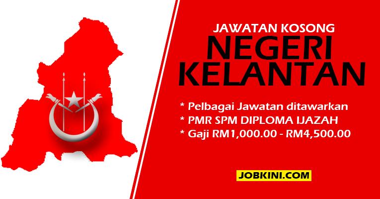 Jawatan Kosong Terkini di Negeri Kelantan