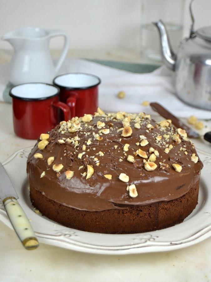 Bizcocho de chocolate ¡Sin pesar ingredientes!