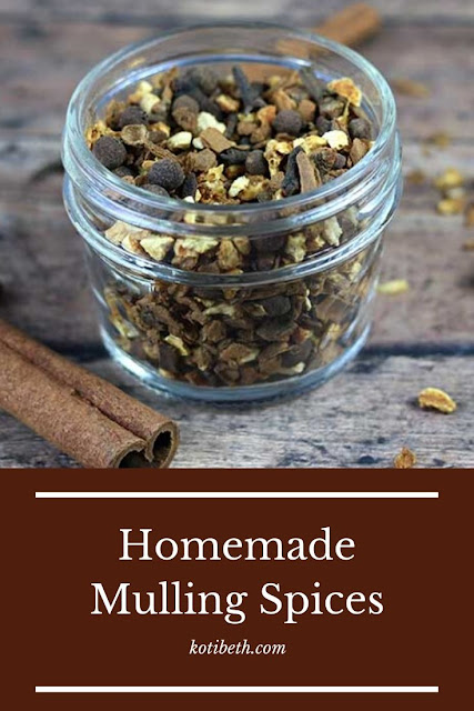 How to make an easy mulling spices recipe. Use this blend of spices for apple cider, for wine, or for house smells. Make your home smell like fall or Christmas with this DIY recipe. Homemade mulling spices makes a great gift, too! Also incudes uses and what to do with mulling spices. #mullingspice #christmas #fall #recipe
