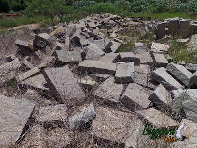 Pedra folheta para caminho de pedra cortada a mão.
