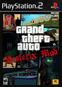 Grand Theft Auto Misterix Mod Ps2 ISO (Ntsc) Esp MG-MF
