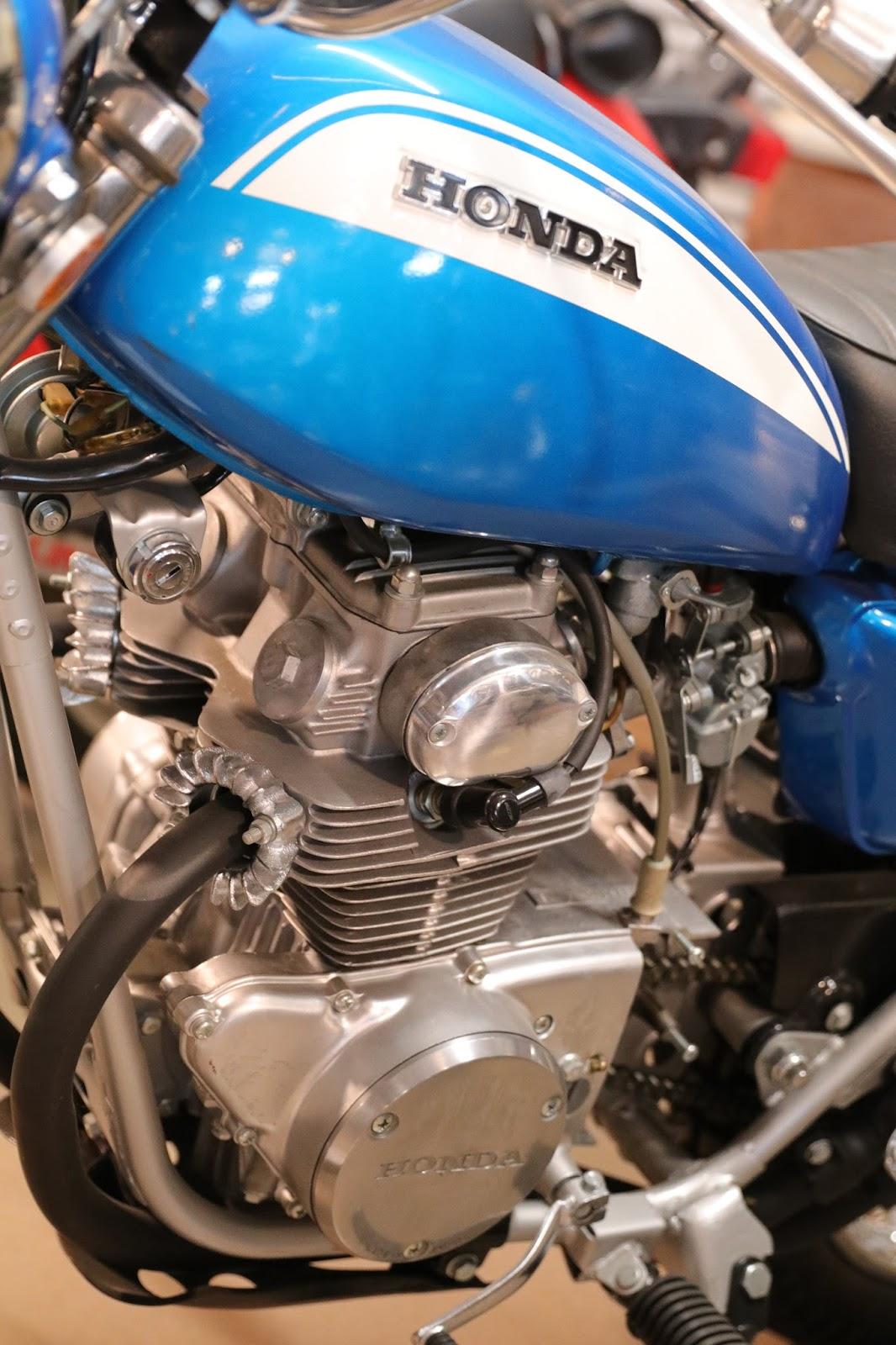 Oldmotodude 1971 Honda Sl175 On Display At The St Francis 50cc Dirt Bike Motorcycle Museum Kansas
