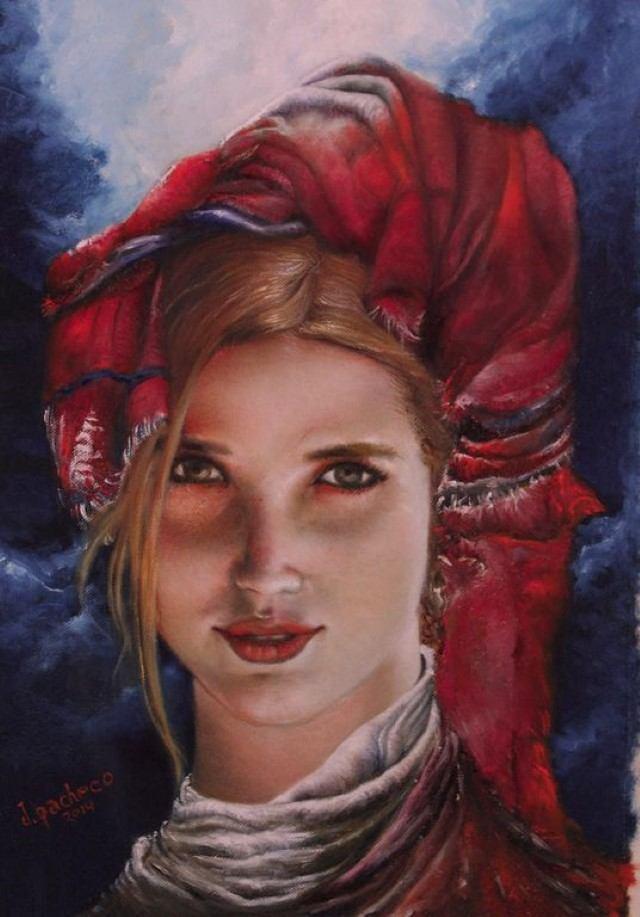 Перуанский художник. Javier Pacheco Almeyda