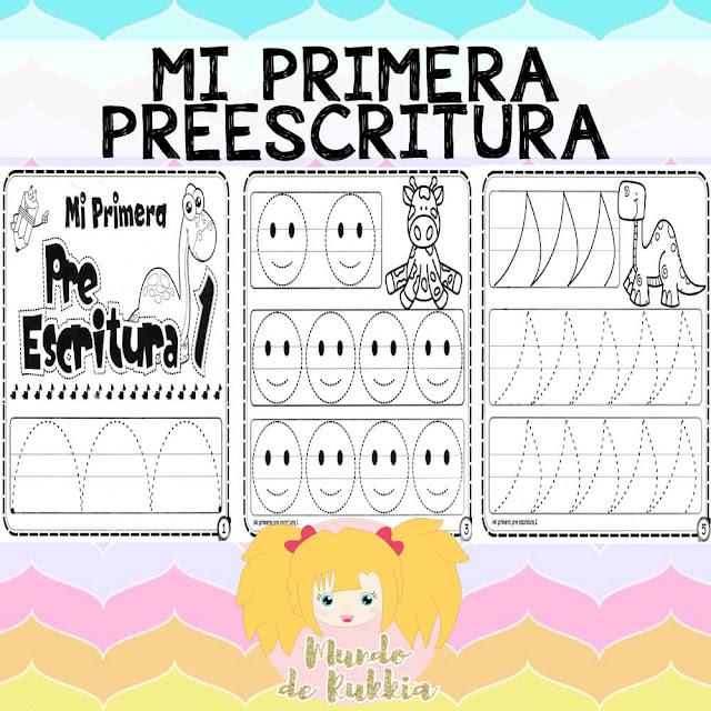 fichas-primera-preescritura-trazos-preescolar