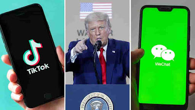 TikTok and WeChat will be banned from Sunday In America : Trump