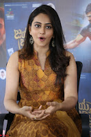 Rakul Preet Singh smiling Beautyin Brown Deep neck Sleeveless Gown at her interview 2.8.17 ~  Exclusive Celebrities Galleries 217.JPG
