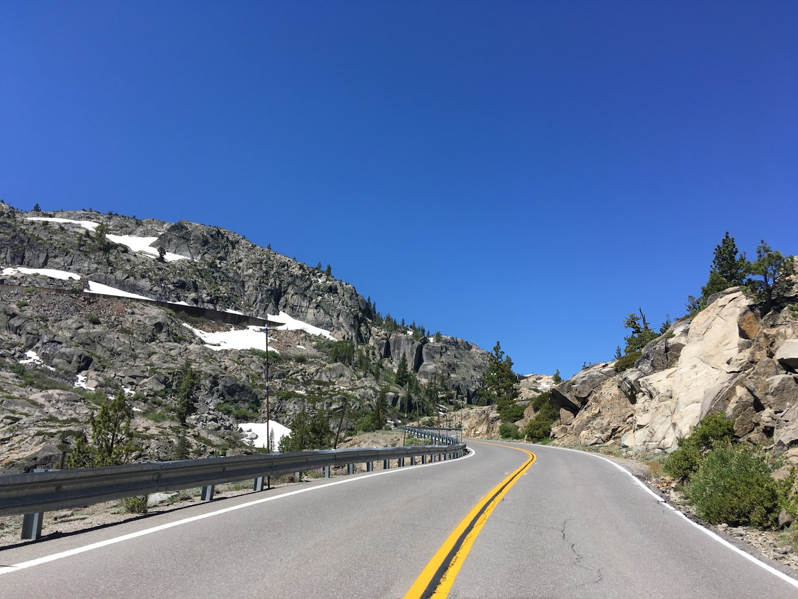 near the top of donner pass the abandoned central pacific rail tunnels overhead are obvious from donner pass road there are some hiking trails that