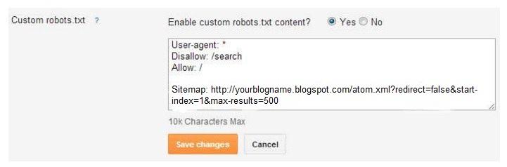 create sitemap for blogger blog blogger sitemap xml my blogging tip