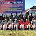 Cegah COVID-19, Satgas Yonarmed 9 Kostrad Bentuk Satgas Relawan Covid-19 di Kao Teluk