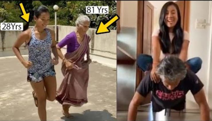 milind-somans-80-year-old-mother-doing-workout-with-his-wife-ankita/663388