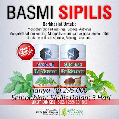 Obat Herbal Penyembuh Sipilis
