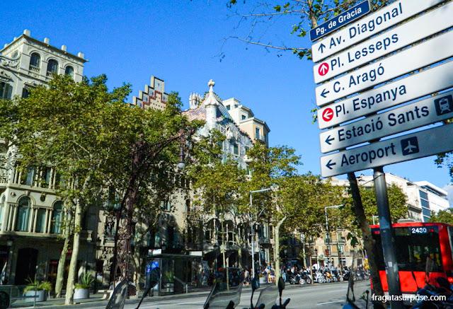 Quadrat d'Or, quarteirão modernista em Barcelona