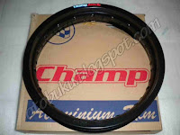 Gambar / Photos Velg Champ Black