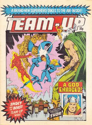 Team-Up #21, Fantastic Four, Marvel UK