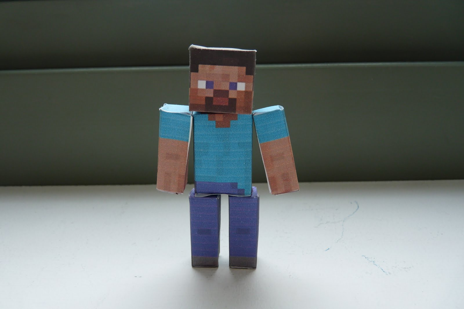 Shoopsoldier Stuff: Minecraft Papercraft Steve