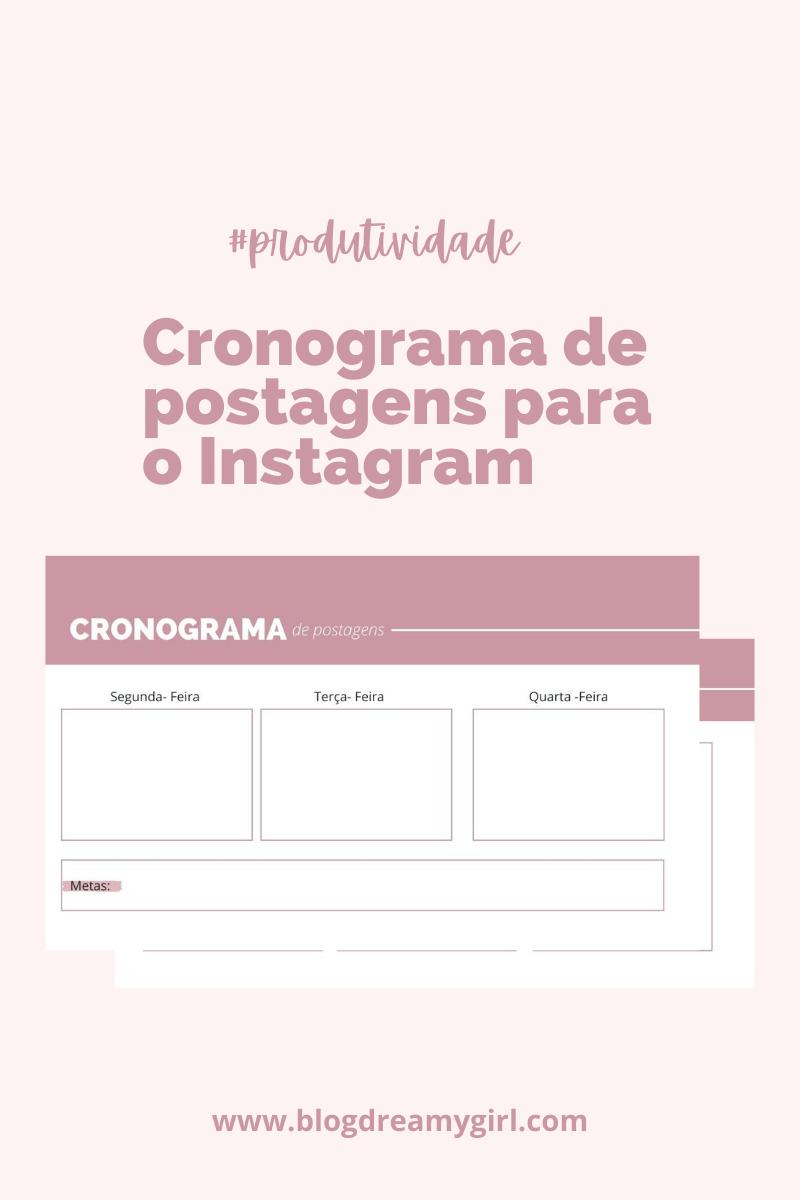 Organize as postagens do seu Instagram de forma correta
