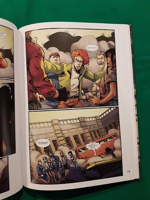 Deadland: una tavola del fumetto