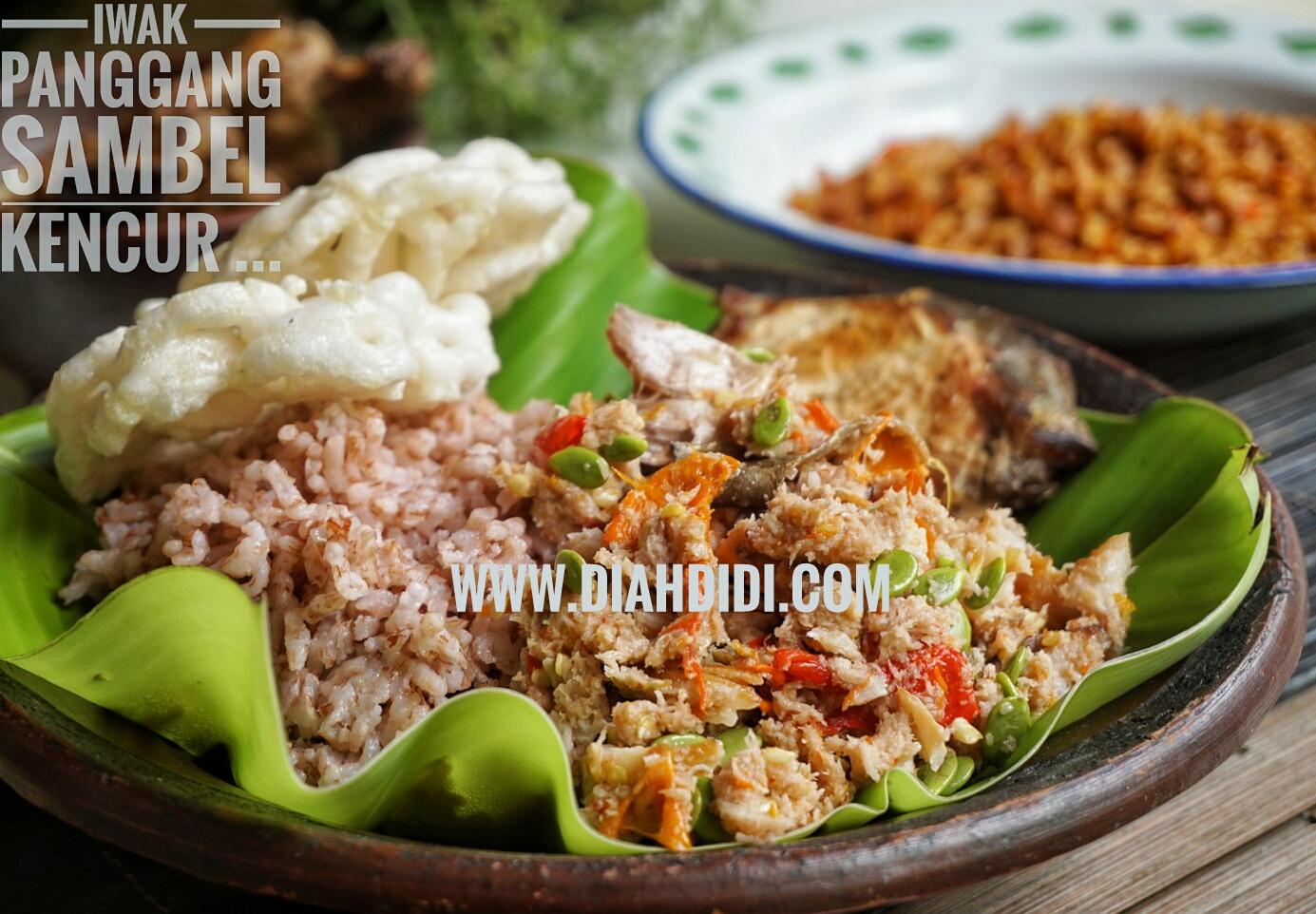 Diah Didi S Kitchen Iwak Panggang Sambel Kencur