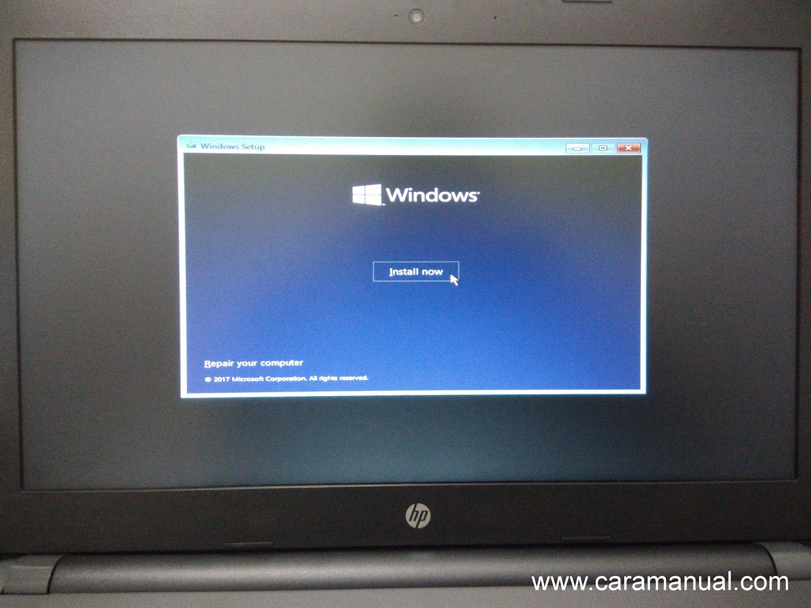Instal Windows 10 Dengan Flashdisk di Laptop Non-OS 1