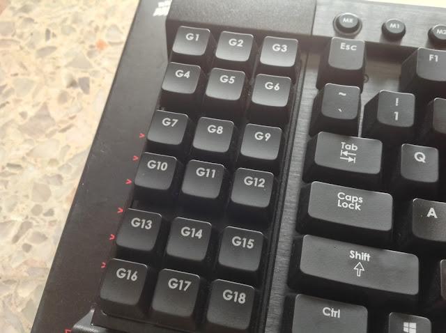 Corsair Vengeance Series Mechanical Keyboard Round Up 204