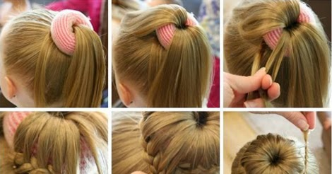 Easy Fancy Bun For Formal Events Hairstyle Tutorial