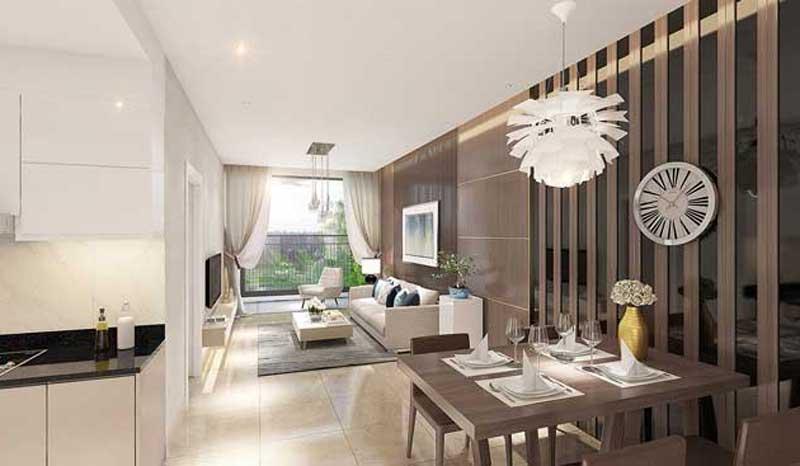 Thiết kế hiện đại tại căn hộ Sài Gòn Gateway
