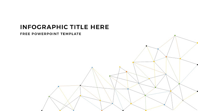 Infographic Linear Apstract Background and Title Free PowerPoint Template Slide 2